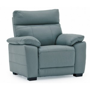 Vida Living Positano Blue 1 Seater Fixed Armchair