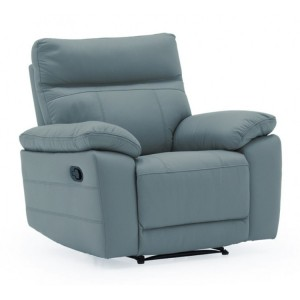 Vida Living Positano Blue 1 Seater Recliner Armchair
