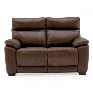 Vida Living Positano Brown 2 Seater Fixed Sofa