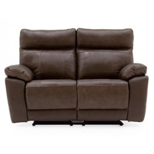 Vida Living Positano Brown 2 Seater Recliner Sofa