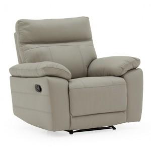Vida Living Positano Light Grey 1 Seater Recliner Armchair