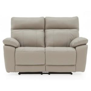 Vida Living Positano Light Grey 2 Seater Recliner Sofa