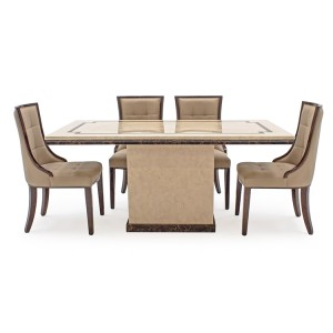Vida Living Alfredo Marble Furniture 160cm Dining Table