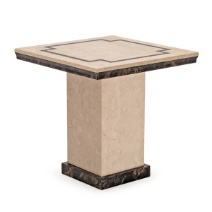 Vida Living Alfredo Marble Furniture Lamp Table
