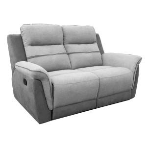 Vida Living Dawson Grey 2 Seater Recliner Sofa