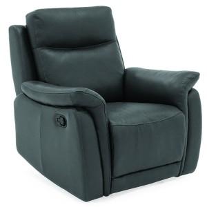 Vida Living Francesco Grey 1 Seater Recliner Chair