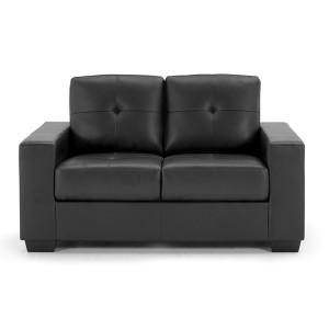 Vida Living Gemona Black 2 Seater Sofa