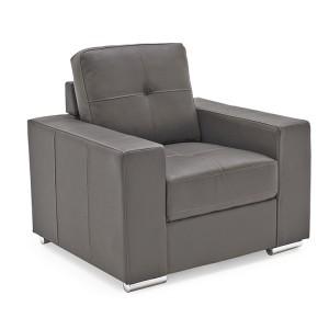 Vida Living Gemona Grey 1 Seater Armchair