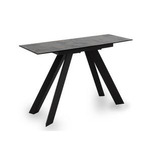Vida Living Flavia Metal & Glass Console Table