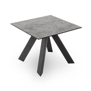 Vida Living Flavia Metal & Glass Lamp Table