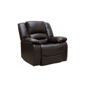 Vida Living Barletto Brown 1 Seater Recliner Armchair