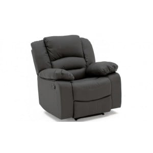 Vida Living Barletto Grey 1 Seater Recliner Armchair