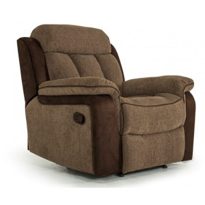 Vida Living Brampton Brown 1 Seater Recliner Armchair