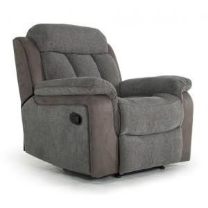 Vida Living Brampton Grey 1 Seater Recliner Armchair
