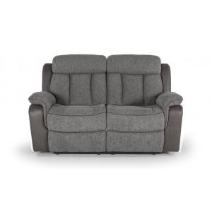Vida Living Brampton Grey 2 Seater Recliner Sofa