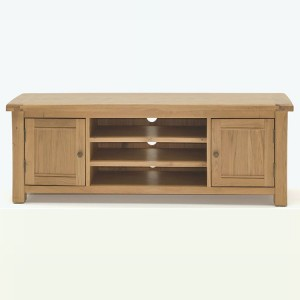 Vida Living Breeze Oak Furniture 120cm TV Unit
