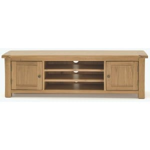 Vida Living Breeze Oak Furniture 160cm TV Unit