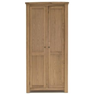 Vida Living Breeze Oak Furniture 2 Door Wardrobe