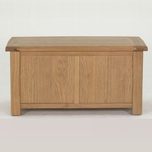 Vida Living Breeze Oak Furniture Blanket Box