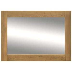 Vida Living Breeze Oak Furniture Mirror