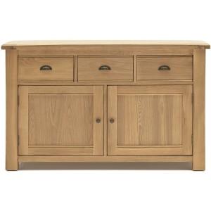 Vida Living Breeze Oak Furniture Sideboard