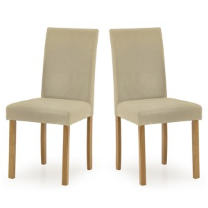 Vida Living Anna Dining Chair Beige Pair