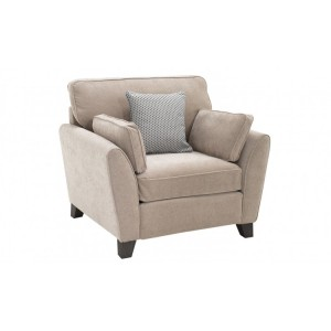 Vida Living Cantrell Almond 1 Seater Armchair