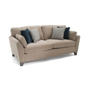 Vida Living Cantrell Almond 3 Seater Sofa