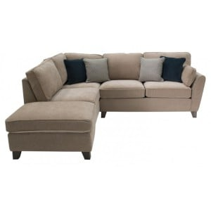 Vida Living Cantrell Almond Left Facing Corner Sofa Group