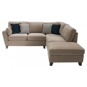 Vida Living Cantrell Almond Right Facing Corner Sofa Group