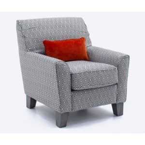 Vida Living Cantrell Graphite Accent Chair