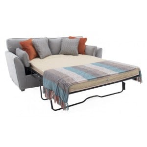 Vida Living Cantrell Silver 2 Seater Sofa Bed