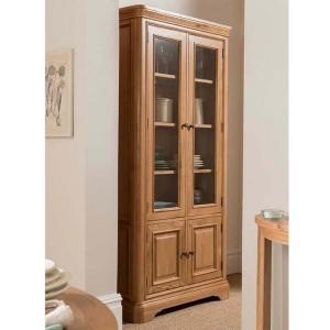 Vida Living Carmen Oak Furniture Display Unit