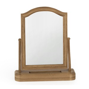 Vida Living Carmen Oak Furniture Vanity Mirror