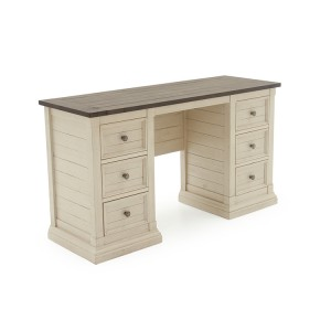 Vida Living Croft Vintage Ivory Dressing Table