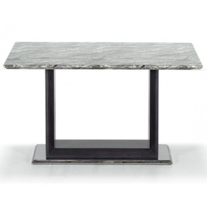 Vida Living Donatella Furniture Grey Marble 120cm Dining Table