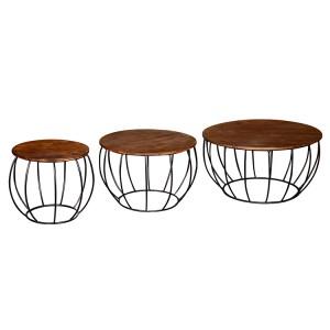 Vida Living Durango Nesting Coffee Table Set