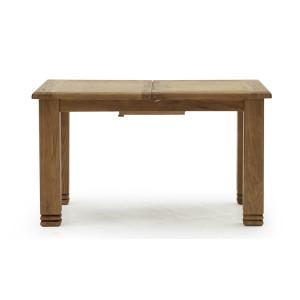 Vida Living Edmonton Oak Furniture 140-180cm Extending Dining Table