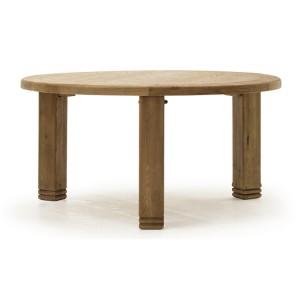 Vida Living Edmonton Oak Furniture 156cm Round Dining Table