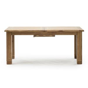 Vida Living Edmonton Oak Furniture 180-230cm Extending Dining Table
