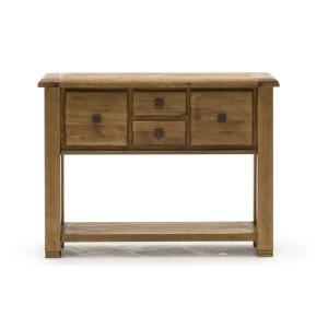 Vida Living Edmonton Oak Furniture Large Console Table