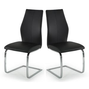 Vida Living Elis Dining Chair Black Pair