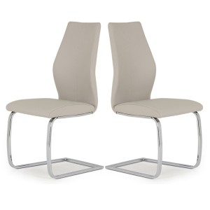 Vida Living Elis Dining Chair Taupe Pair