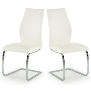 Vida Living Elis Dining Chair White Pair