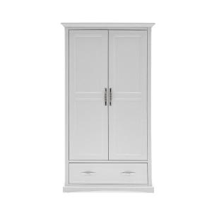 Vida Living Harlow Painted Furniture 2 Door Wardrobe White