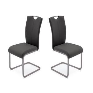 Vida Living Lazzaro Furniture Grey Dining Chair Pair