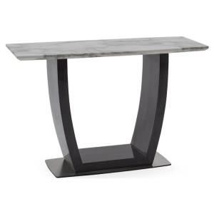 Vida Living Luciana High Gloss & Marble Console Table