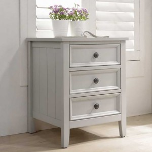 Vida Living Mila Clay 3 Drawer Bedside Table