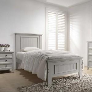 Vida Living Mila Clay 3ft Single Panelled Bed