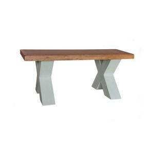 Vida Living Monroe Grey & Oak Furniture Coffee Table